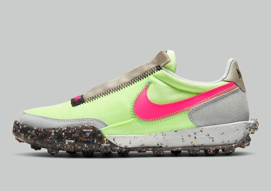 Nike Applies Space Hippie Principles To The Waffle Racer Crater