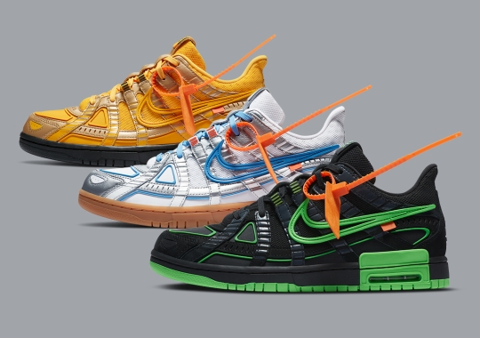 The Off-White x Nike Rubber Dunk Releases October 1st