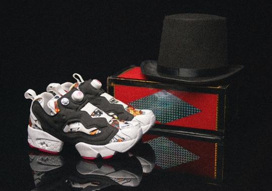 PHANTACi And Deal Conjure Up A Magic Show With The Reebok Instapump Fury