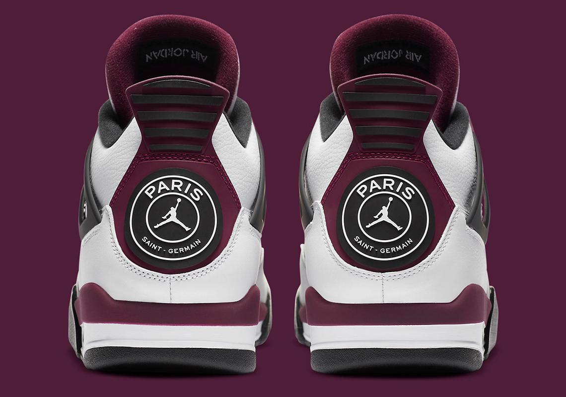 Paris Saint-Germain Nike Air Jordan 4 Retro PSG CZ6509-100