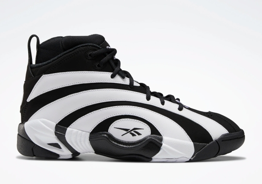 This Reebok Shaqnosis Flips The OG White/Black Colorway