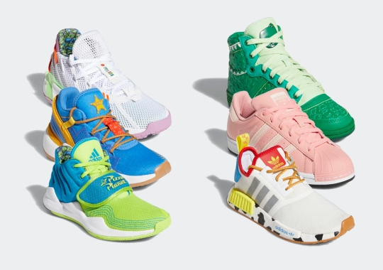 Toy Story And adidas Join Forces For Massive Kids Collection Headlined By The Dame 7