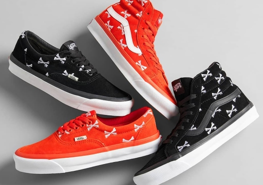 WTAPS And Vans Revisit Past Motifs With A Crossbones-Adorned Set Of Sk8-His and Eras