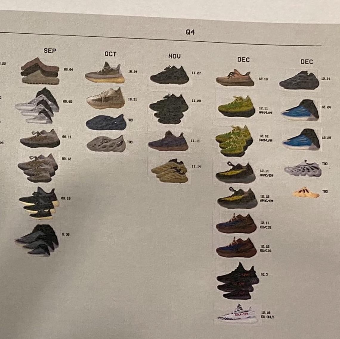 adidas Yeezy 2020 Upcoming Release