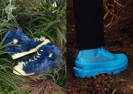 AMBUSH And Converse Prepare Furry Chuck 70s And Chuck Rubber Boots For November Release