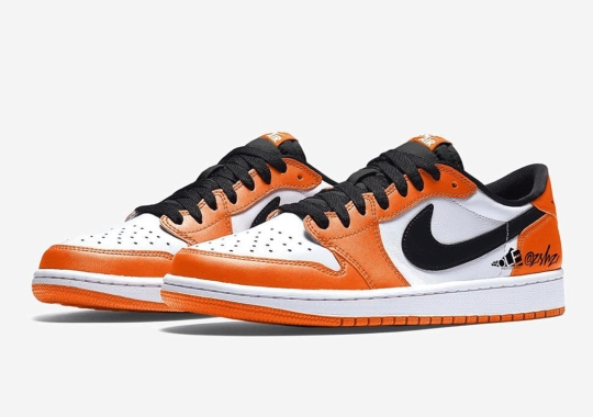 The Air Jordan 1 Low OG Is Set To Dress Up In Orange In August 2021