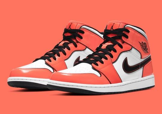 The Air Jordan 1 Mid SE Appears In Vibrant Turf Orange