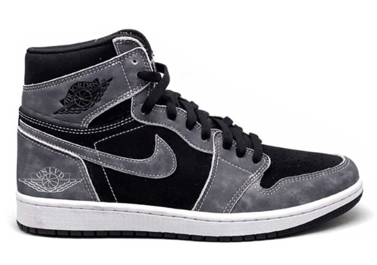 Air Jordan 1 Retro High OG In Black And Light Smoke Grey Coming June 2021