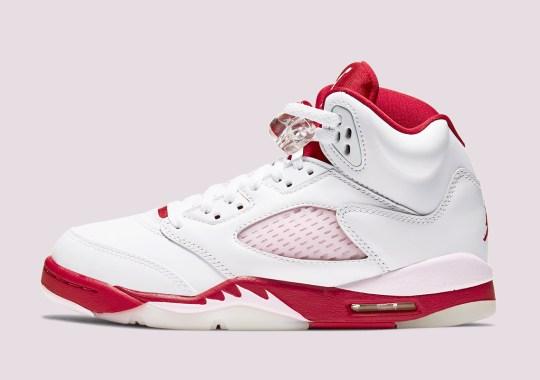 "Where To Buy The Air Jordan 5 GS ""Pink Foam"""