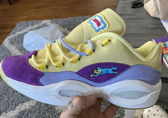 BBC Ice Cream Has A Reebok Question Low In The Works
