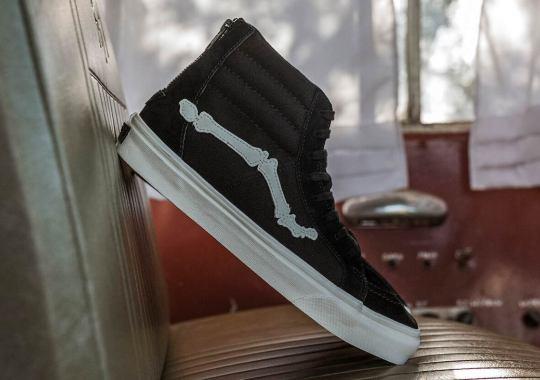 BLENDS And Vans Vault Bring Back The Bone-Adorned Sk8-Hi Zip