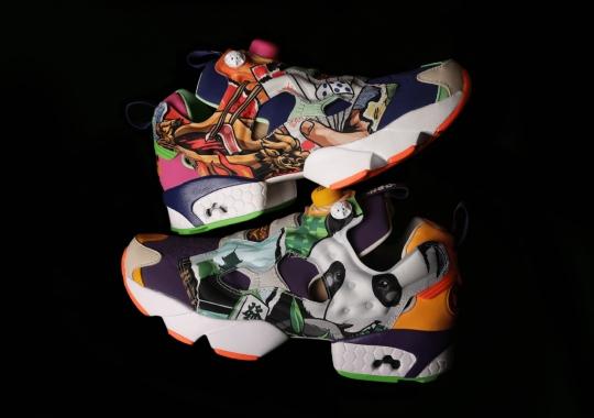 """DEAL And NSC Honor Sichuan Province With Decorative Reebok Instapump Fury """"ShuDu"""""""