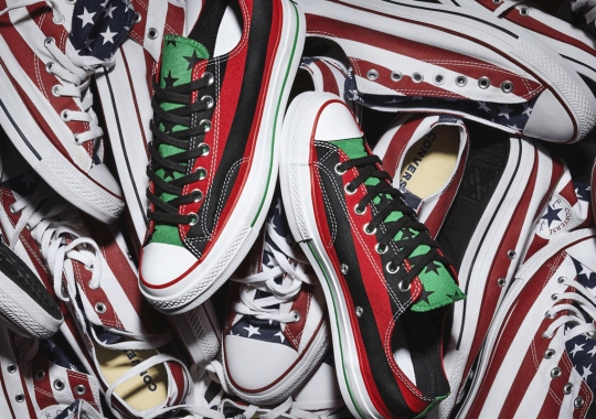 Tremaine Emory Brings The African-American Flag To His Converse Chuck 70 Collaboration