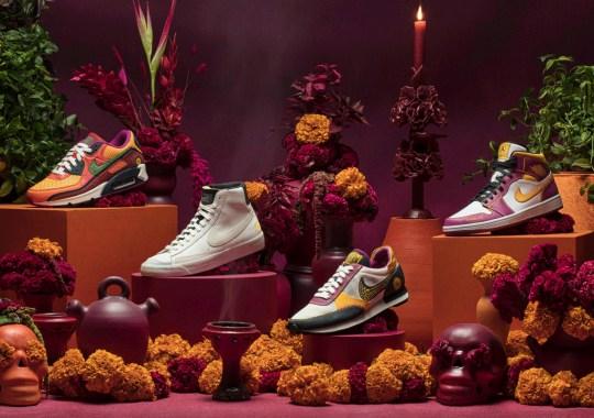 NIKE, Inc. Celebrates Día de Los Muertos With An Air Jordan 1 And Nike Sportswear Classics