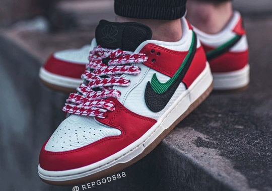 """Dubai's FRAME SKATE Teams Up With Nike SB For The Dunk Low """"Habibi"""""""