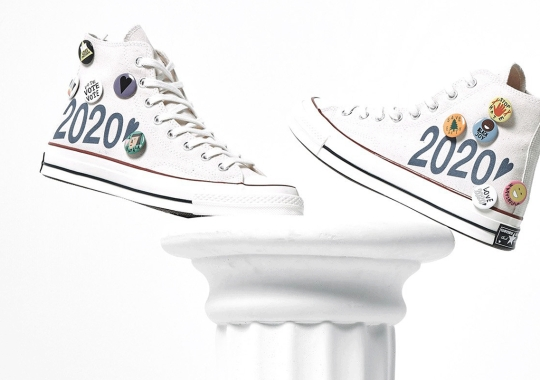 Vice Presidential Nominee Kamala Harris Inspired The Converse Chuck Taylor By Social Status and Nina Chanel