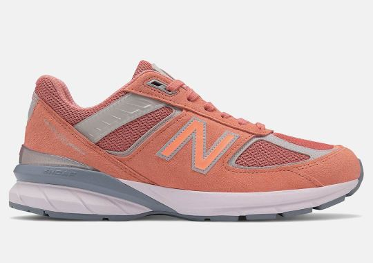 "New Balance 990v5 Just Released In ""Sunrise"""