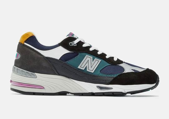 The New Balance 991 Returns In A Multi-Mix Of Material And Color