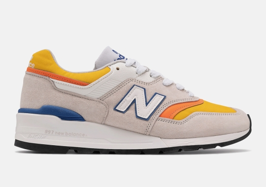 New Balance Offers Up A 997 With A Southwestern Palette