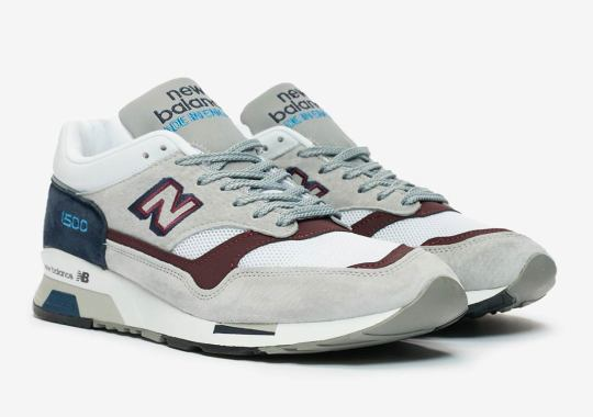 The New Balance 1500 Returns With Teal And Burgundy Accents