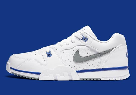 The Nike Air Cross Trainer Low Is Arriving Soon In White And Royal Blue