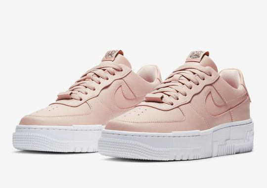 Nike Air Force 1 Low Pixel Arriving In Particle Beige