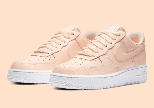 Nike's Double Mini-Swoosh'ed Air Force 1 Gets A Women's Melon Tint