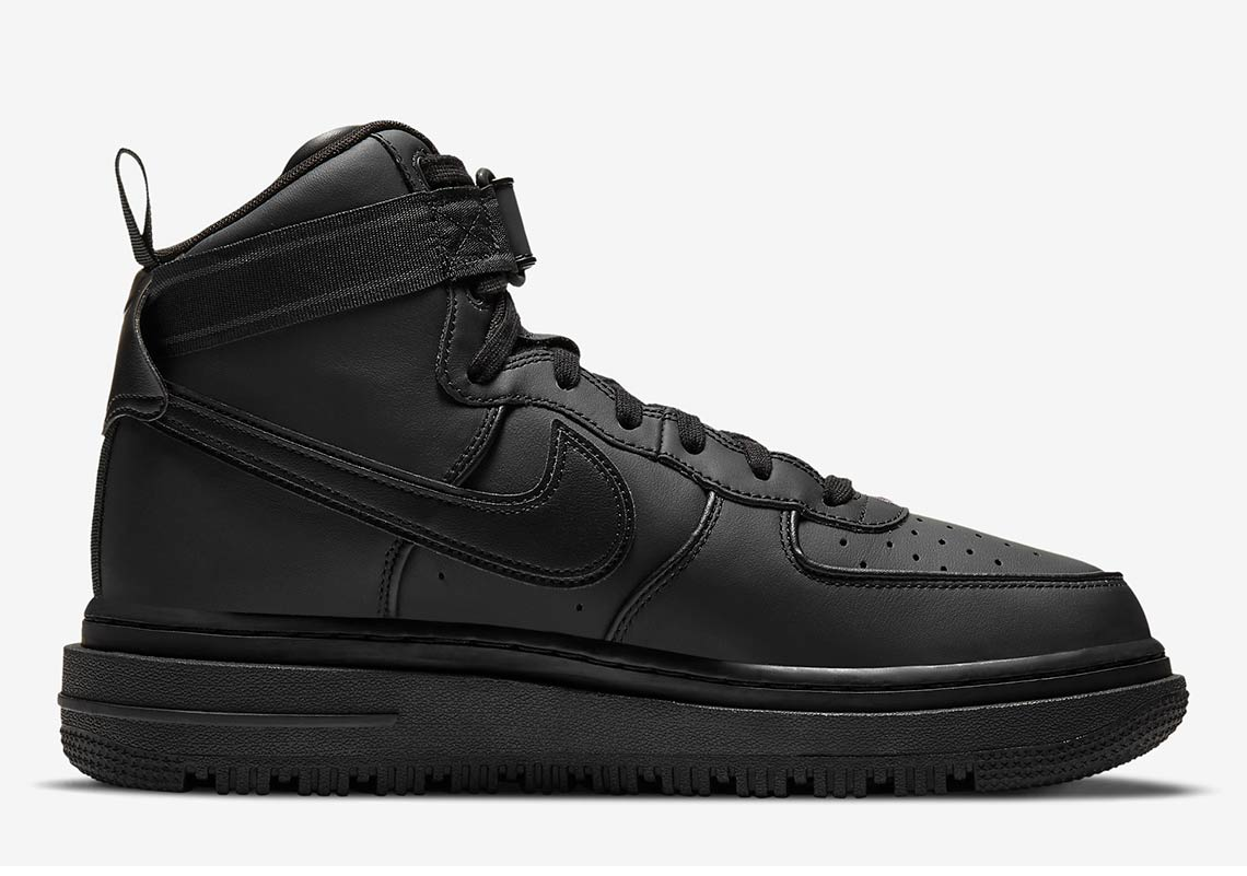 Nike Air Force 1 High Boot Black DA0418