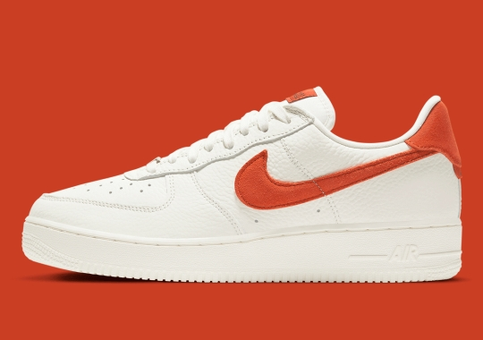 The Nike Air Force 1 Low Craft Cleans Up With Mantra Orange