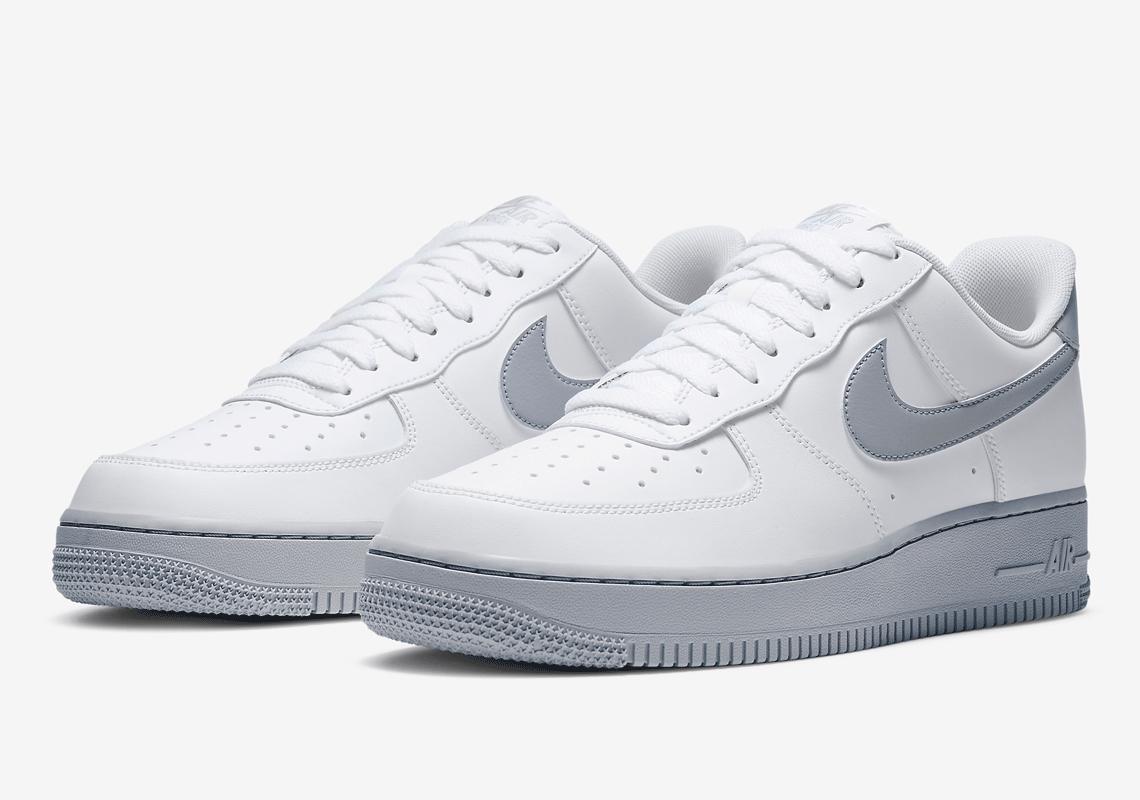 vestido Estricto Gobernar  Nike Air Force 1 Low White Wolf Grey CK7663-104 | SneakerNews.com
