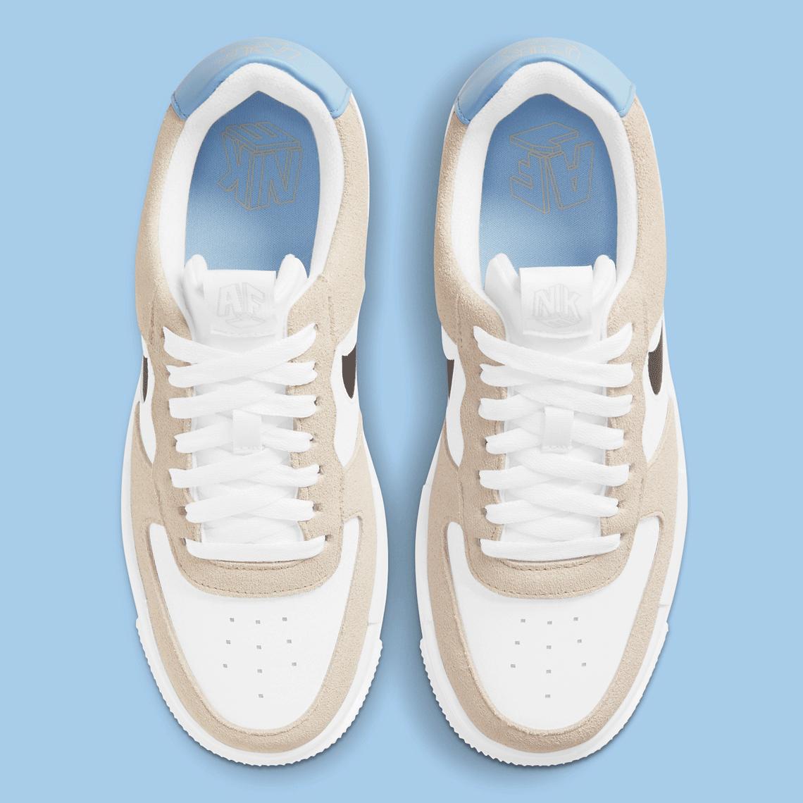 Nike Air Force 1 Pixel Desert Sand DH3861-001   SneakerNews.com