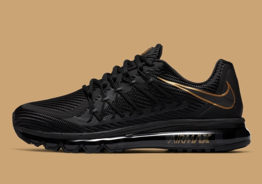 Nike Air Max 2015 Returns In Black And Metallic Gold