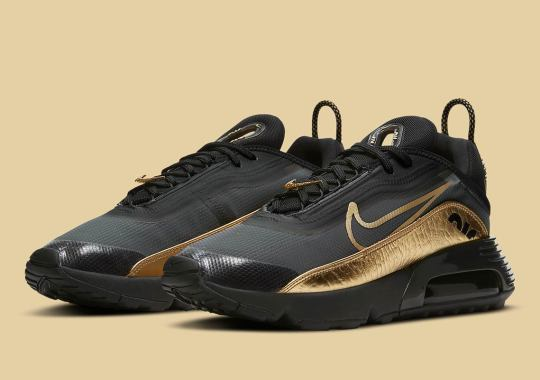 """The Nike Air Max 2090 """"Metallic Gold"""" Is Dropping On November 9th"""