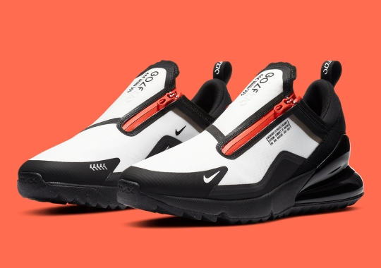 Nike Presents The Air Max 270 G Shield For Rainy Day Golf