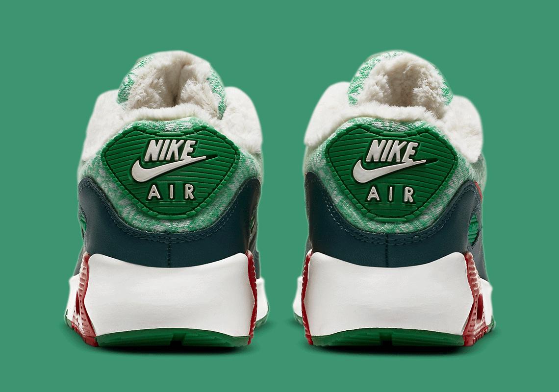Nike Air Max 90 Kids Christmas DC1607-100 DC1621-100   SneakerNews.com