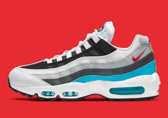 "The Nike Air Max 95 Features ""Red Carpet"" Appeal"