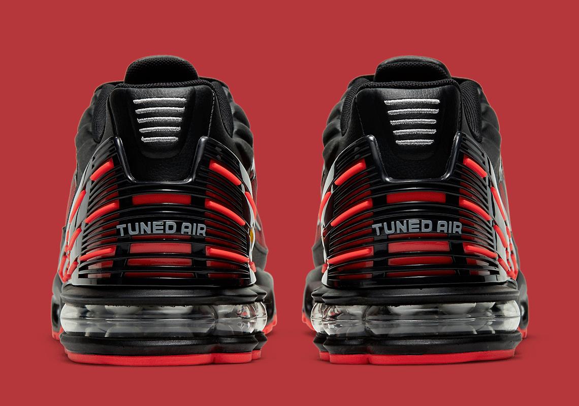 Nike Air Max Plus 3 Radiant Red Black CT1693-002   SneakerNews.com