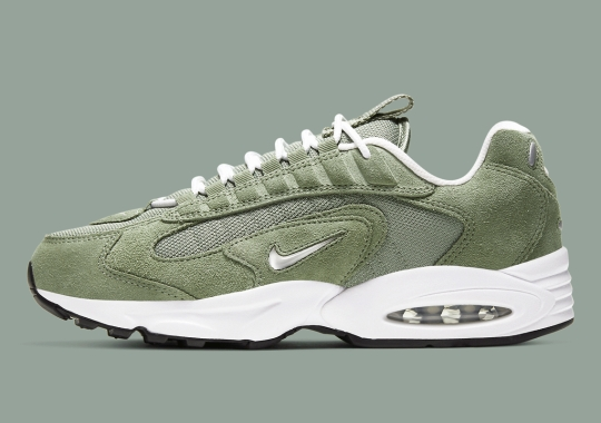 The Nike Air Max Triax 96 Arrives In Spiral Sage