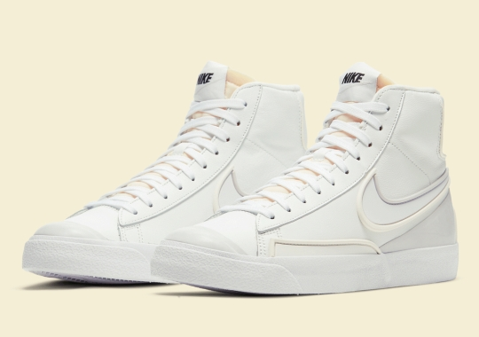 The Nike Blazer Mid '77 D/MS/X Gets The Triple White Look