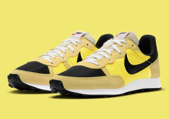 This Nike Challenger OG Is Illuminated By Opti Yellow