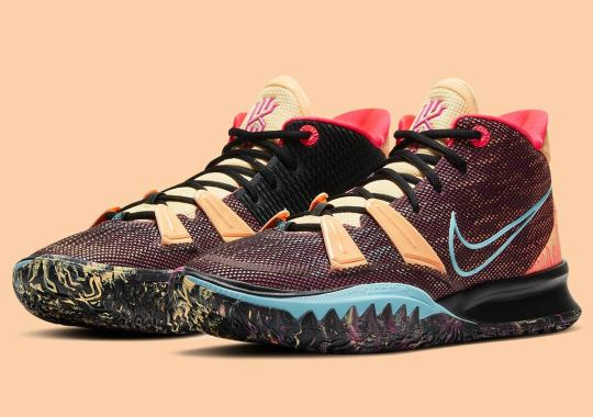 "The Nike Kyrie 7 ""Soundwave"" Is Loosely Inspired By Travis Scott's Cactus Jack Collaborations"