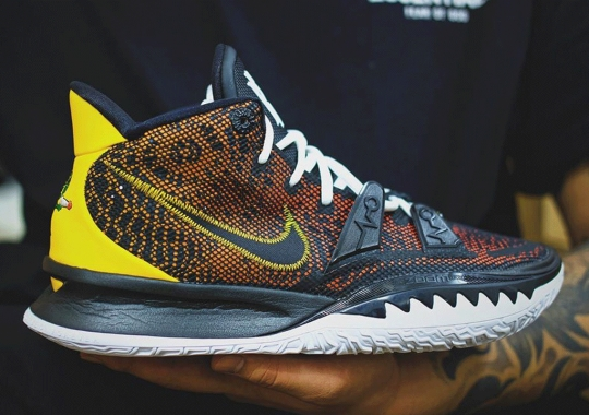 "The Nike Kyrie 7 Revisits ""Raygun"" Theme"