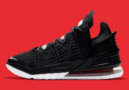 The Nike LeBron 18 Gets A Classic Black/Red Look