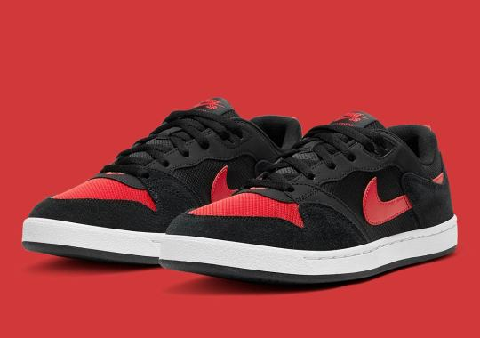 """The Nike SB Alleyoop Gets The Classic """"Banned"""" Look"""