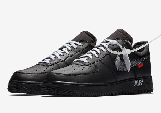 Virgil Abloh Suddenly Teases The Black Off-White x Nike Air Force 1 MoMA