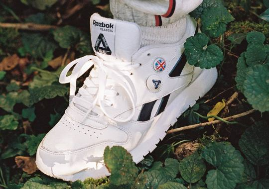 Palace Achieves The Impossible With Their Upcoming Reebok Classic Leather Pump