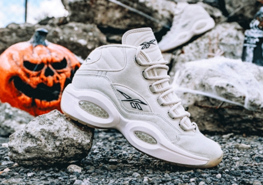 "The Reebok Question Mid ""Halloween"" Features Tear-Away Uppers"