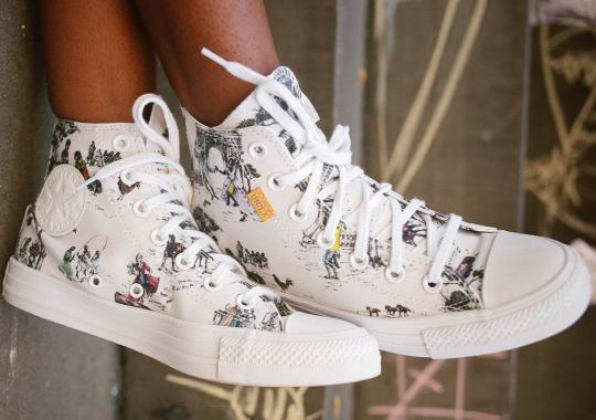 Union And Converse Use The Chuck Taylor To Celebrate Sheila Bridges' Harlem Toile