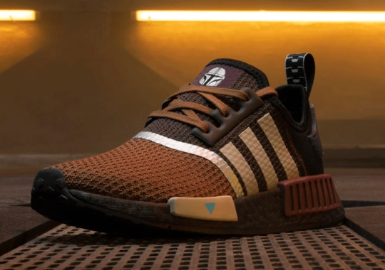 The Mandalorian Gets His Own adidas NMD R1