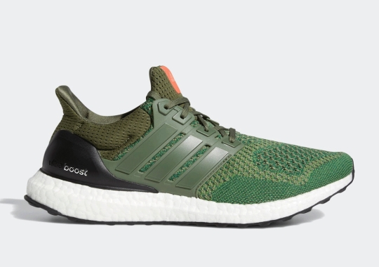 "The adidas Ultra Boost LTD ""Base Green"" Is Available Now"